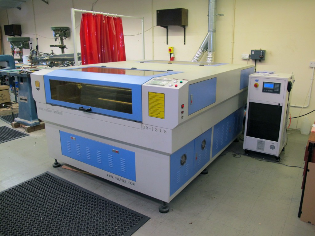 large format laser cutters in Kent