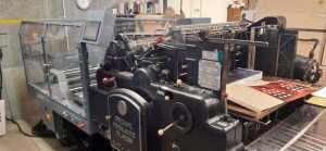 New machines for foiling